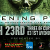 """""""The Electric Age"""" LISTENING PARTY @ THREE OF CUPS LOUNGE, NYC"""