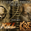 """LEGENDS OF THRASH 2013"" – Overkill & Kreator to DESTROY USA!"