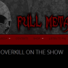 Bobby Blitz of Overkill on the show this weekend!