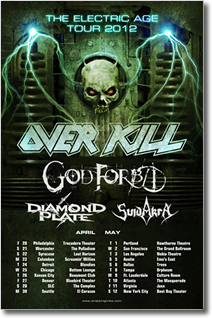 killfest2012 / 2013 World Tour Dates